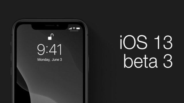 ios 13.3 beta 3 что нового