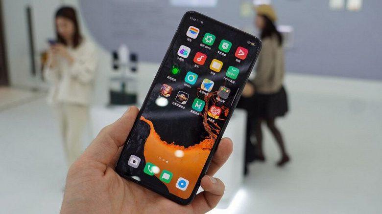 OPPO представила прототип смартфона без кнопок