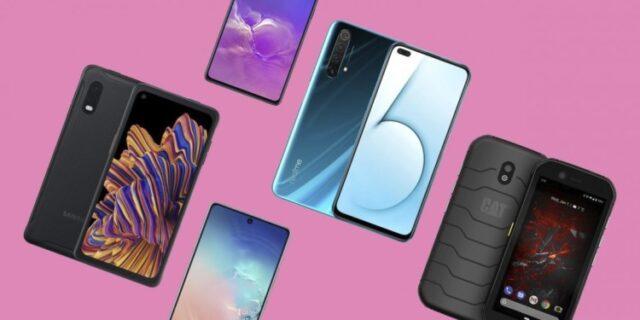 топ смартфонов январь 2020